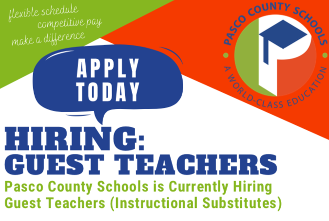 Hiring Guest Teachers