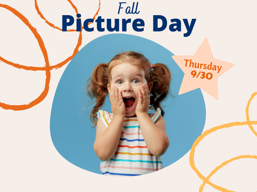 Fall Picture Day - Thursday, September 30th